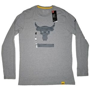Under Armour x Project Rock Hardest Worker L/S Tee